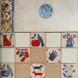 Beautiful ceramic tiles Royalty Free Stock Image