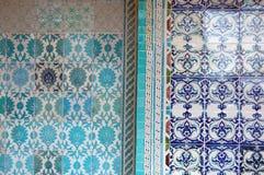 Beautiful ceramic tiles Stock Photography