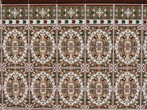 Beautiful ceramic tiles at Fuengirola Spain Royalty Free Stock Image