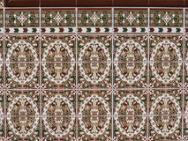 Beautiful ceramic tiles at Fuengirola Spain Stock Photo