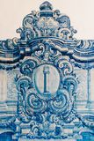 Beautiful Ceramic Wall Texture Pattern Or Azulejos In Lisbon Stock Photography