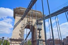 Beautiful Chain Bridge Royalty Free Stock Images