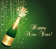 Beautiful champagne background. Stock Photography