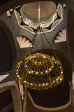 Beautiful chandelier in armenian church Stock Image