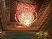 A beautiful chandelier stock photos