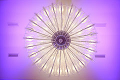 Beautiful chandelier Royalty Free Stock Images