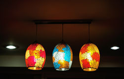 Beautiful  chandelier indoor interior Royalty Free Stock Photography