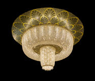Beautiful chandelier isolated Royalty Free Stock Images
