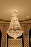 A beautiful chandelier light Stock Image