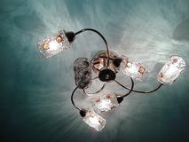 A beautiful chandelier. Royalty Free Stock Photo