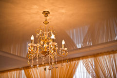 Beautiful chandelier. Stock Photography