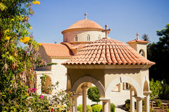 Beautiful chapel in Monastery of Saint George Royalty Free Stock Image