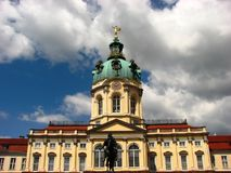 A beautiful Charlottenburg Palace in Berlin Stock Photos