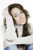 Beautiful charming woman Stock Images