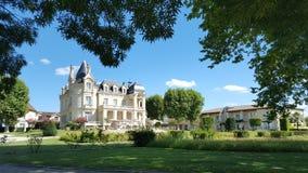 Beautiful Chateau view. Chateau near Saint Emilion, France royalty free stock photography