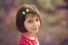 Beautiful, Cheerful, Child Stock Photography