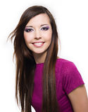 Beautiful cheerful young woman Royalty Free Stock Image
