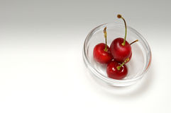 Beautiful cherries Royalty Free Stock Image