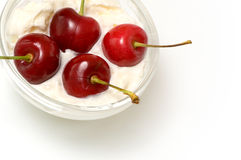Beautiful cherries Royalty Free Stock Photos