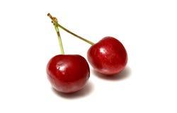 Beautiful cherries Stock Images