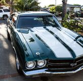 A beautiful Chevy SS Chevelle Classic Royalty Free Stock Photo