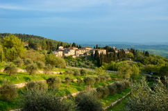 Beautiful Chianti landscape, Tuscany Stock Photography