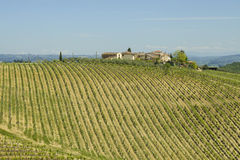 Beautiful Chianti region in Tuscany Royalty Free Stock Images
