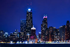 Beautiful Chicago Skyline Royalty Free Stock Photo