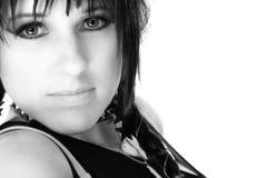 beautiful chick rocker Στοκ φωτογραφία με δικαίωμα ελεύθερης χρήσης