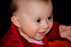 Beautiful child. Portrait of a beautiful child (monochrome Stock Image