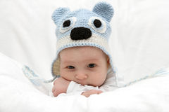 Beautiful child in hat Royalty Free Stock Images