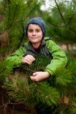 Beautiful child outdoor Stock Photos