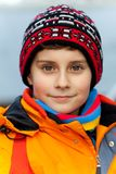 Beautiful child outdoor Stock Photography