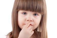 Beautiful child portrait. Stock Photography