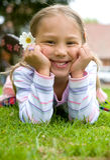 Beautiful child portrait Royalty Free Stock Photo