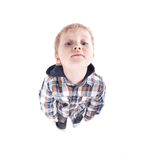 Beautiful child watching funny Royalty Free Stock Images