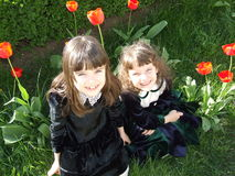 Beautiful children Royalty Free Stock Photo