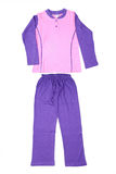 Beautiful children tracksuit. On a white background Royalty Free Stock Images