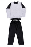 Beautiful children tracksuit Stock Images