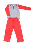 Beautiful children tracksuit Royalty Free Stock Photos