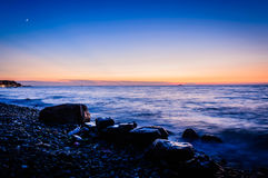 Beautiful Chill Out Sunset royalty free stock images