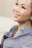 Beautiful Chinese Asian Woman Smiling Royalty Free Stock Photos