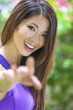 Beautiful Chinese Asian Young Woman Girl Royalty Free Stock Image
