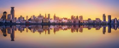 Shanghai skyline cityscape Stock Images