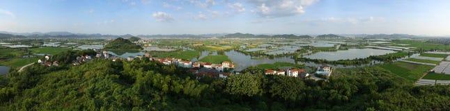 Beautiful Chinese countryside Stock Photo