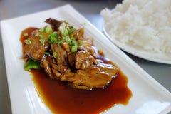 Beautiful Chinese dish Stock Image