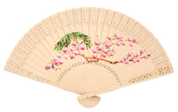 Beautiful Chinese fan Royalty Free Stock Images