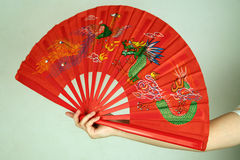Beautiful Chinese fan Royalty Free Stock Image