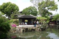 Beautiful Chinese garden Stock Photo