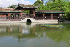 Beautiful Chinese garden Royalty Free Stock Images